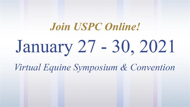 Virtual Equine Symposium & Convention: January 27 - 30, 2021